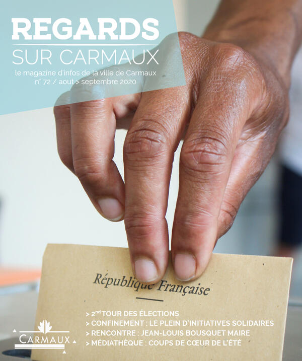 Publication: Magazine municipal // Regards sur Carmaux 72